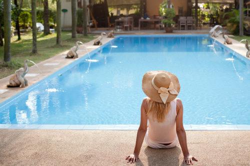 piscina  da giardino chiavi in mano