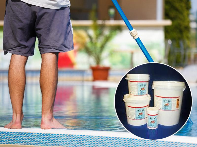 prodotti a base di cloro per piscine