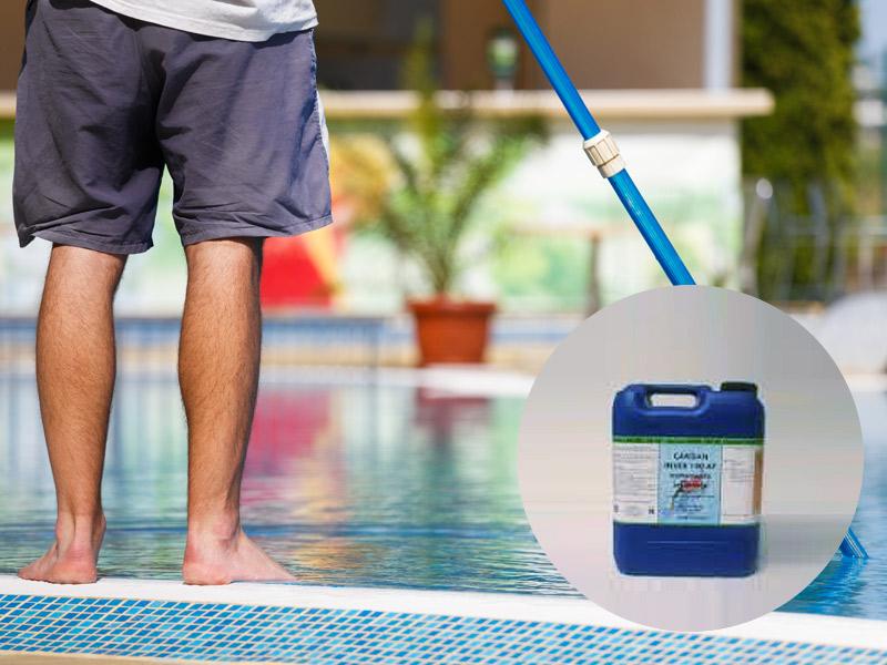 prodotti chimici per piscine da giardino