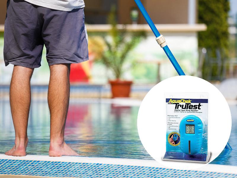 prodotti per il controllo dei valori della vostra piscina