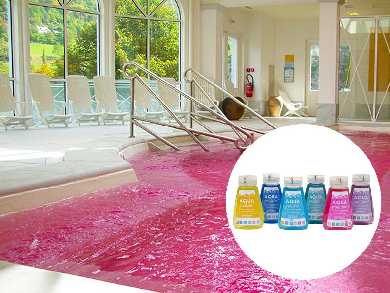 coloranti per piscine ad giardino