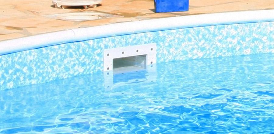 bocchettone per piscina da giardino