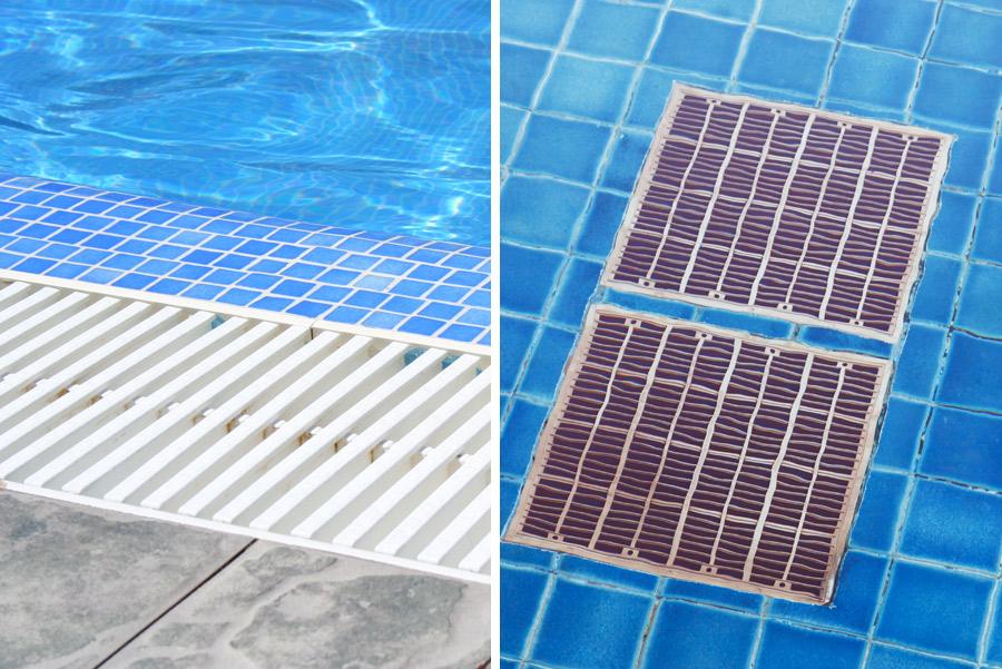 griglie per piscine da giardino