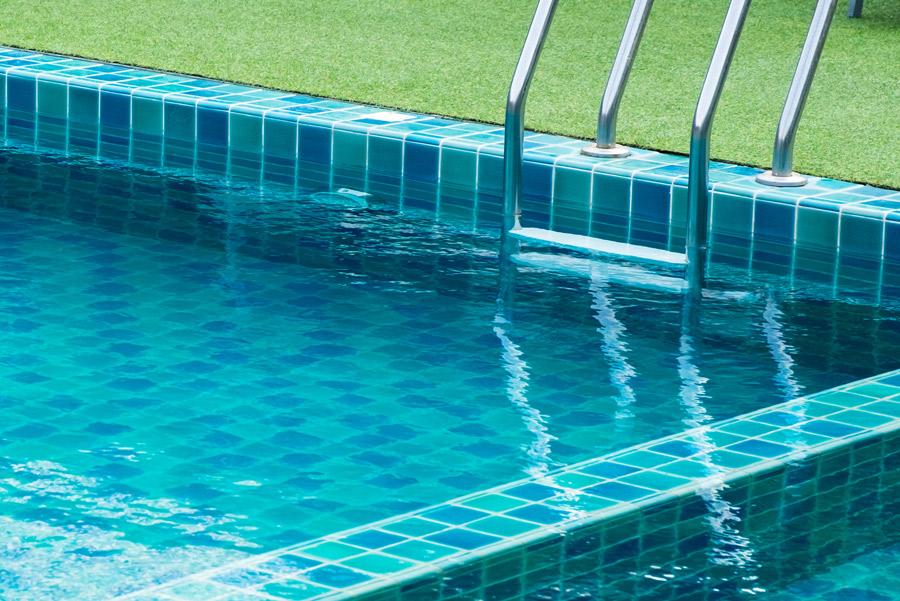 piscina da giardino sistema skimmer