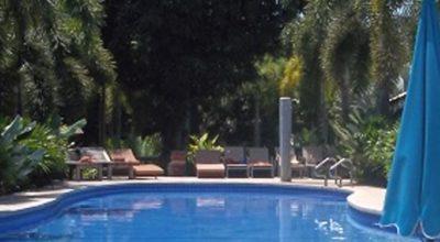 piscina interrata e il bel tempo