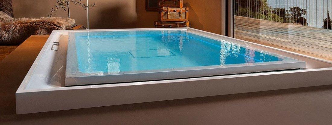 Minipiscine spa minipiscine idromassaggio e nuoto controcorrente - Piscina da interno ...