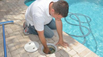 Manutenzione del filtro della piscina