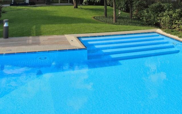 Accessori per piscina interrata, scale per piscina